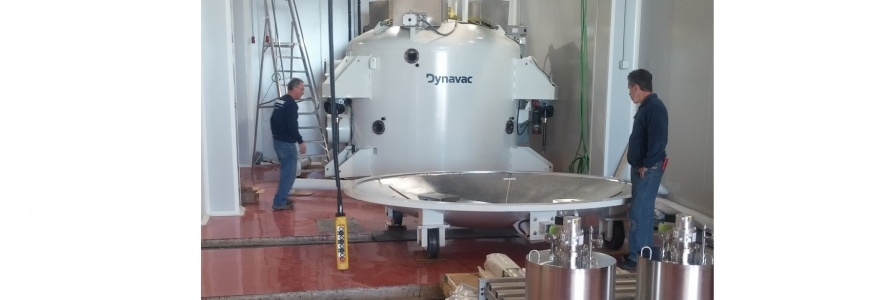 The aluminizing vacuum chamber at OAJ